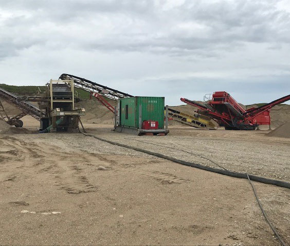 Sand & gravel - Rock Solid Trucking Quality Equipment