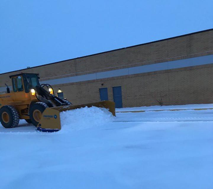Snow Removal Service for Commercial Lots